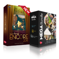 muvee Technologies muvee Reveal Encore + Mega Bundle; ALL 62 Styles + 10 Cinematic Titles and more than 120 music tracks Coupon