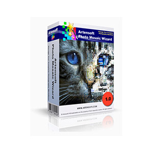 Artensoft – Artensoft Photo Mosaic Wizard (Personal License) Coupon Discount