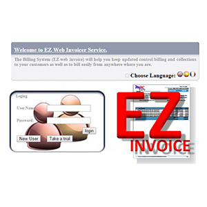 EZ Web Invoicer