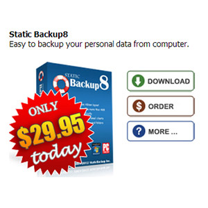 $20 Static Backup8 Coupon