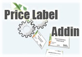 Price Label Addin